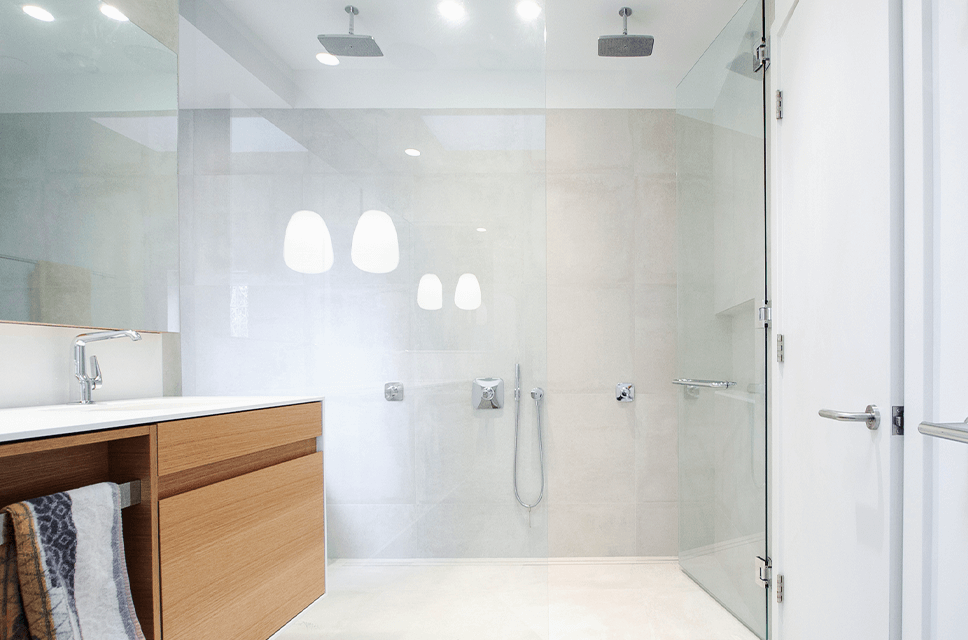 Frameless Showers - Residential Services