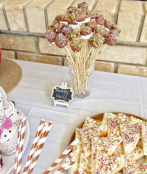 Bunny Rabbit Themed first birthday party ideas 1st