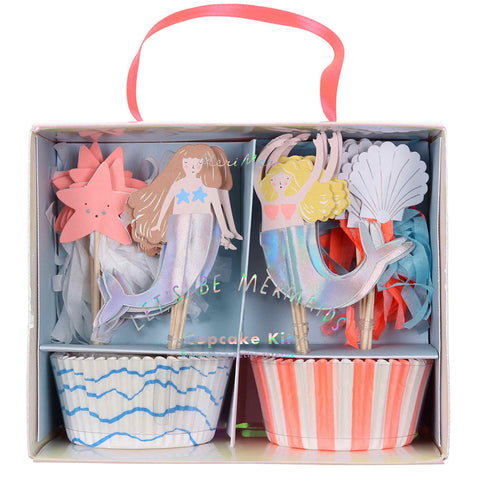 Mermaid Party Cupcake Kit