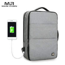 Markryden New Huge Capacity Waterproof USB Design Laptop Backpack 17 inches 5-7 days Short Trip Travel Bag