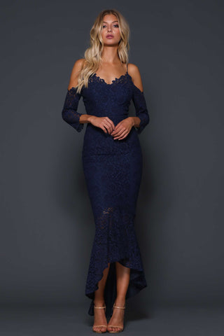 Ivy Dress French Navy