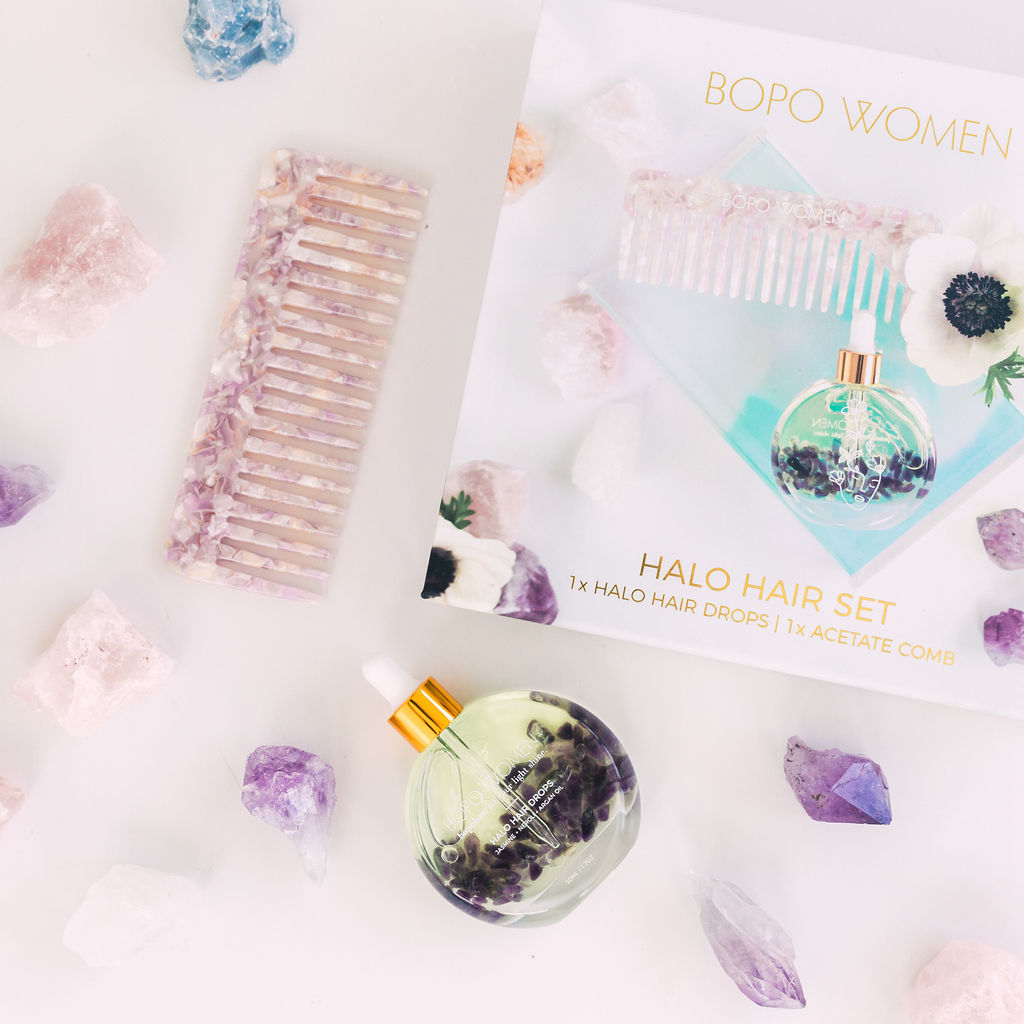 Halo Hair Drops Gift Set | Bopo Women