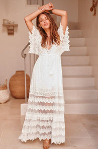 Bungalow Maxi Dress | White