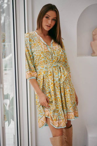 Jaase French Dress | Leilani Print