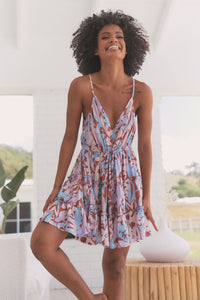 Reef Mini Dress | Neopolitan