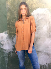 Byron Slouch Shirt Copper