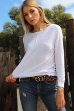 Sacha Knit Top White