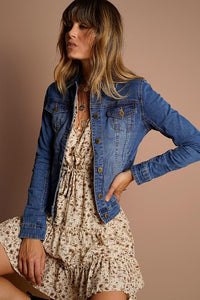 Indie Denim Jacket | Milk Fashion