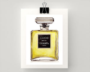 Print of COCO Chanel