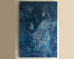 Original Oil Painting of peacock - Beauty of nature