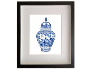 Print of Chinoiserie Ginger Jar