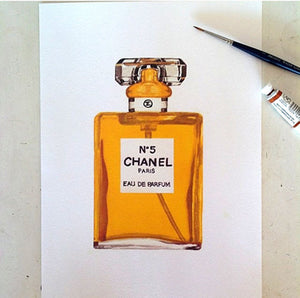 Print of Chanel No 5 Original Scent