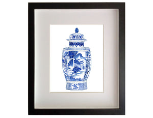 Print of Soochow Temple Jar