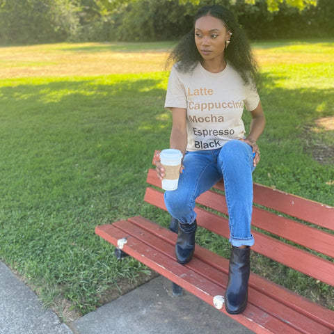 Shades of Brown Tee