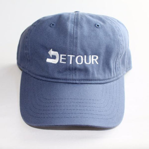 Blue Signature Dad Hat