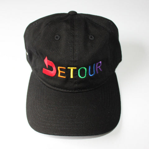 Pride Signature Dad Hat-Black