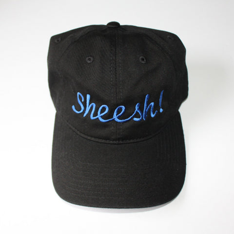 Sheesh! Dad Hat-Black and Blue