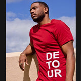 Red Signature Stacked Tee