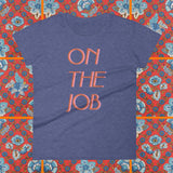 On The Job rhoda style 70s inspired baby doll t-shirt by FUN CULT