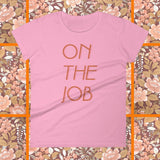 On The Job 70s inspired t-shirt by FUN CULT