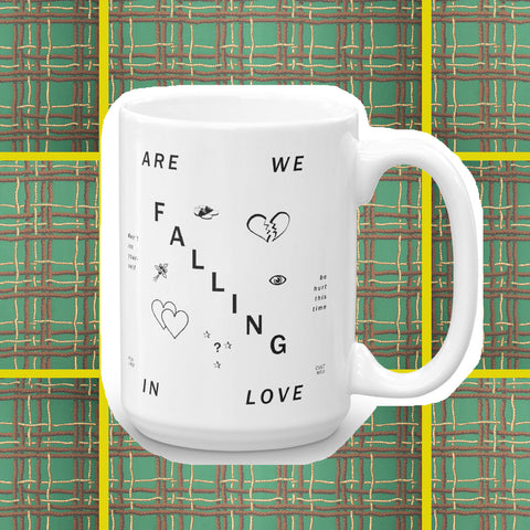 twin peaks falling coffee mug by fun cult