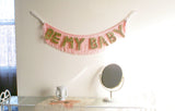 Be My Baby fringe wall banner home decor by FUN CULT