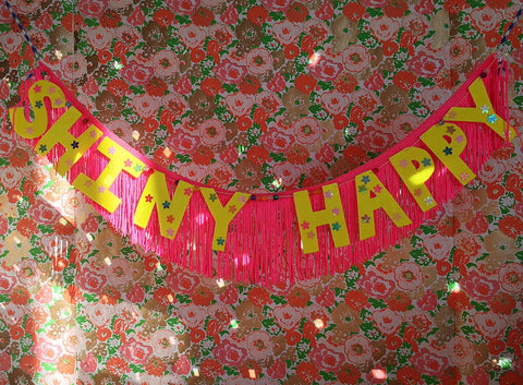 shiny  happy fringe banner by fun cult