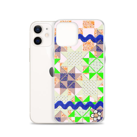 Vintage Quilt Inspired iPhone Case