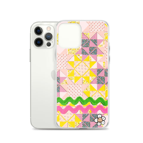 Vintage Quilt Patchwork iPhone Case