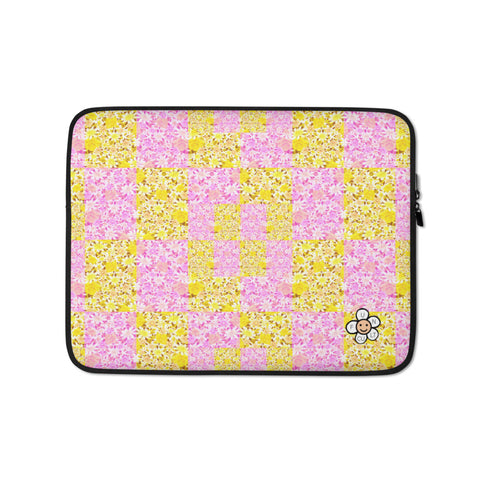 Floral Patchwork 13 inch Laptop Sleeve