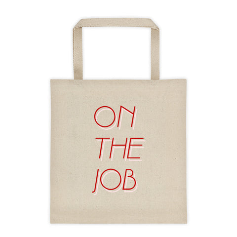 On The Job tote bag by FUN CULT
