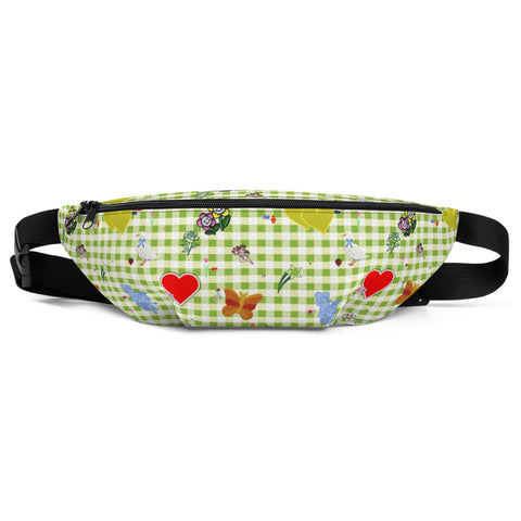 Favorites (with gingham) Fanny Pack