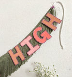 Natural High Fringe Banner by FUN CULT