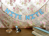 In The Mood / Nite Nite Double Meaning Fringe Banner by FUN CULT - Double Sided Banner