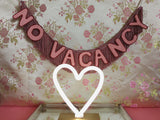 No Vacancy Banner by FUN CULT