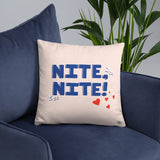In The Mood / Nite Nite Reversible Pillow