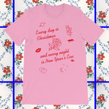 pink and red sade inspired sweetest taboo t-shirt