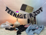 TEENAGE RIOT Fringe Banner by FUN CULT