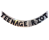 TEEN AGE RIOT Fringe Party Banner by FUN CULT