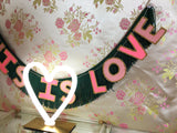 This Is Love Fringe Banner by FUN CULT