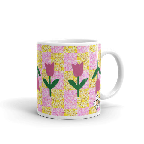 Cheerful Tulip Mug