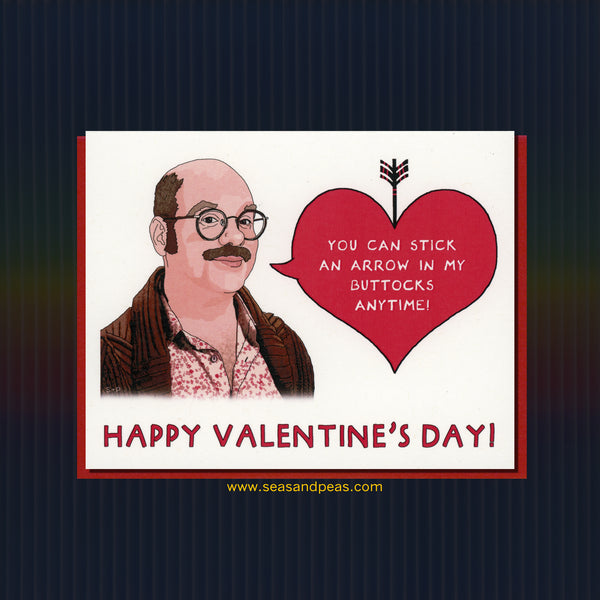 """Arrested Development"" Valentine Card - WHOLESALE"
