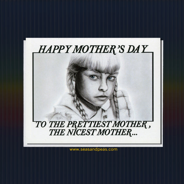 """The Bad Seed"" Mother's Day Card - WHOLESALE"