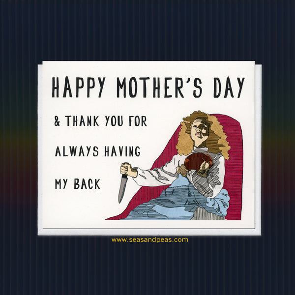 """Carrie"" Mother's Day Card - WHOLESALE"