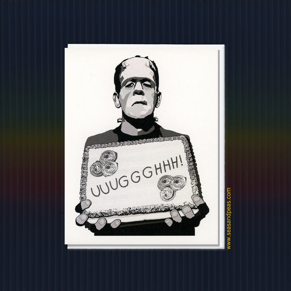 """Frankenstein"" Birthday Card - WHOLESALE"