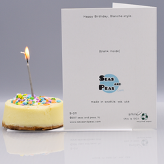 A Blanche-y Birthday Card - WHOLESALE 6-PACK