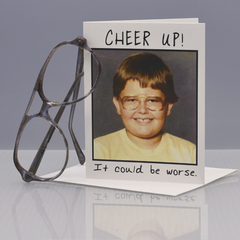Cheer Up Encouragement Card - WHOLESALE 6-PACK