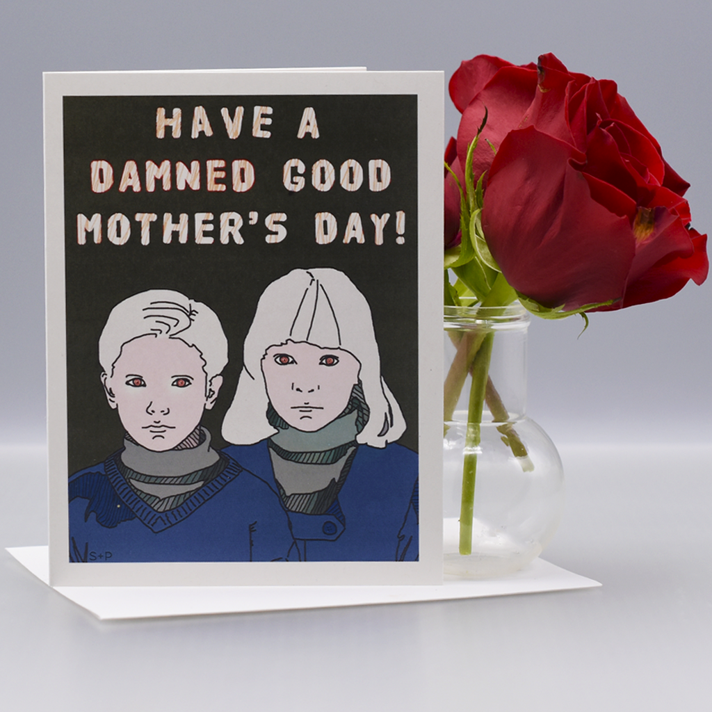The Children of the Damned Mother's Day Card - WHOLESALE 6-PACK