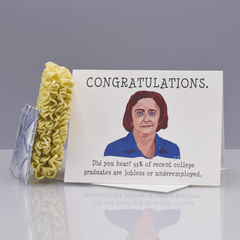 "Debbie Downer ""SNL"" Graduation Card - WHOLESALE 6-PACK"