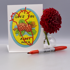 Vandalized Valentine Love Card - WHOLESALE 6-PACK